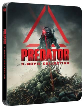 Predator 1-3 steelbook