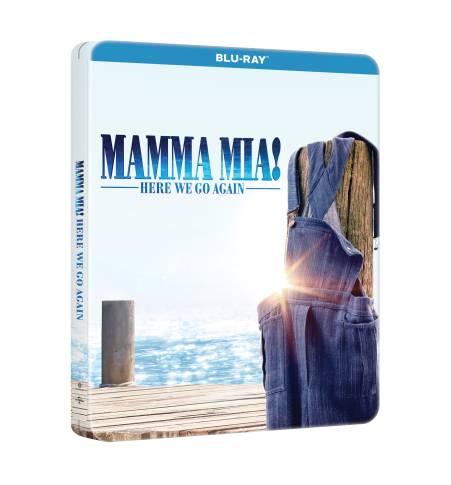 Mamma Mia 2. steelbook HUBD000979 3D